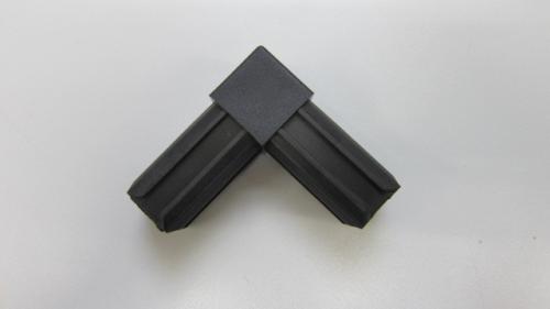 kunststoff 30x30 vierkant rohr 90 eck verbinder aluminium shop online. Black Bedroom Furniture Sets. Home Design Ideas
